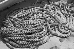 anchor rope for a boat