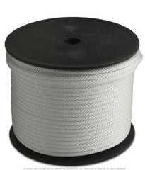 Anchoring Rope, Solid Braid Nylon