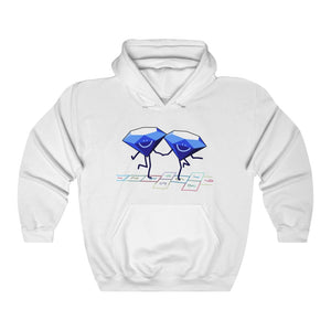 Diamonds Dancing Hopscotch Hoodie