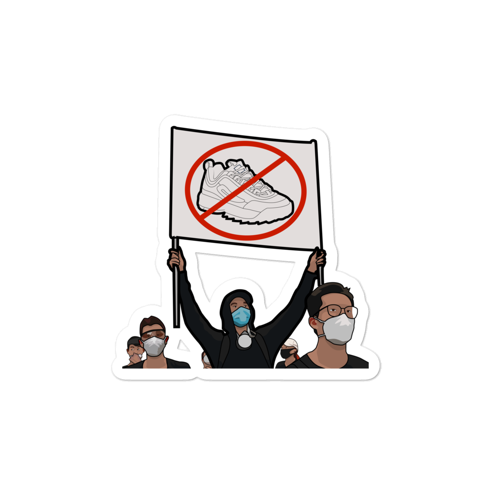 AntiFILA Sticker
