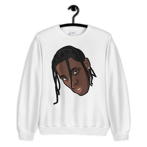 Travis Scott Head Sweatshirt