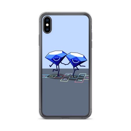 Diamonds Dancing iPhone Case