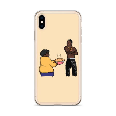 Travis Scott Apple Pie iPhone Case