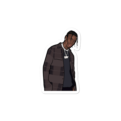 Travis Scott Stargazing Sticker