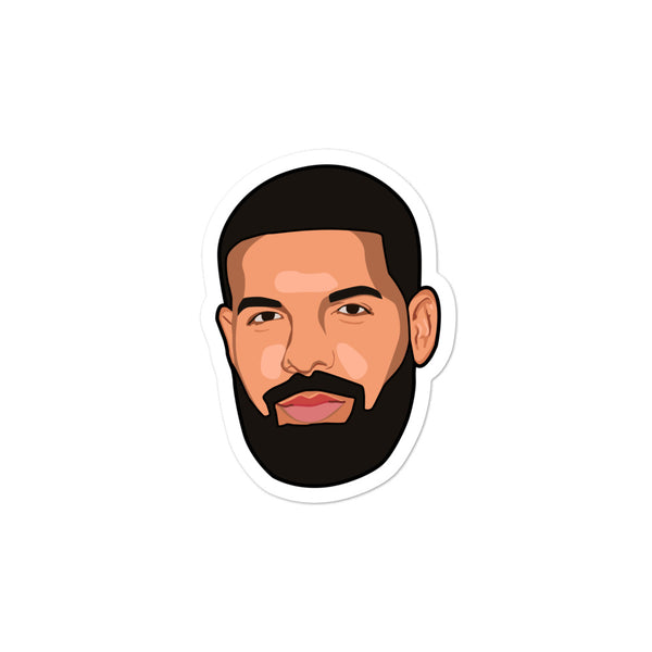 Drake Head Sticker