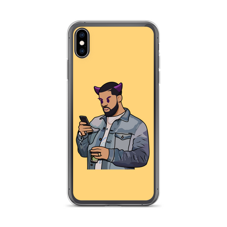 Drake Leave Kanye Alone iPhone Case