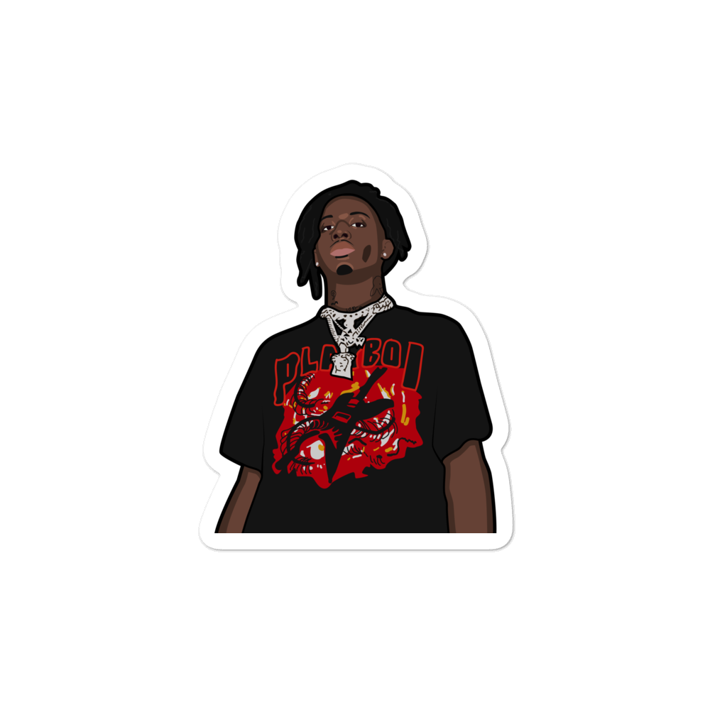 Playboi Carti Rockstar Sticker