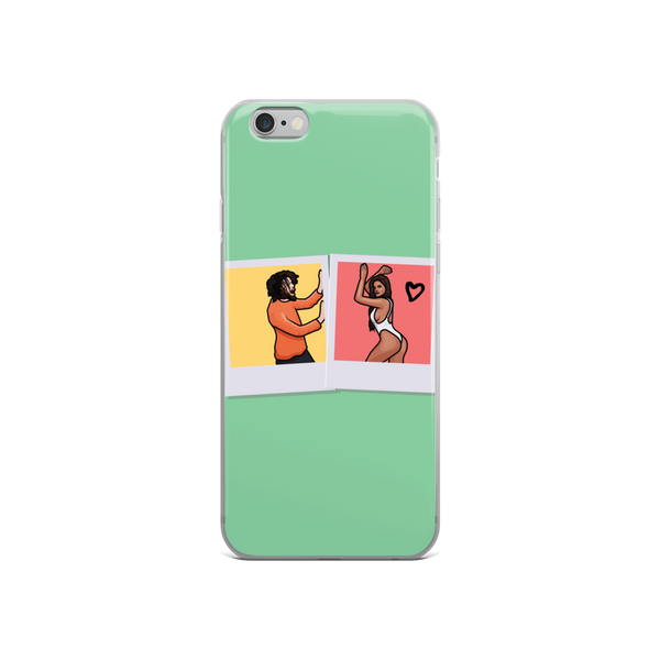 J Cole Fell in Luv Through Photograph iPhone Case