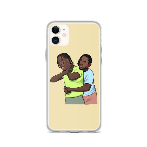 Travis Scott I Need the Heimlich iPhone Case