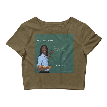 Math Wiz Khalifa Crop Top