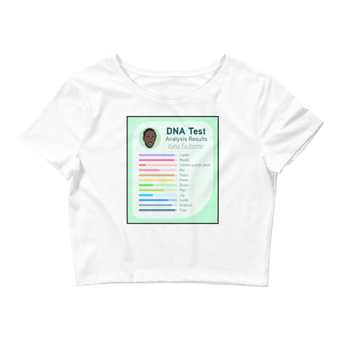 Inside My DNA Crop Top
