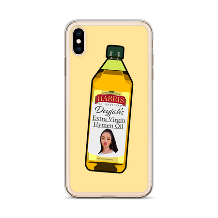 Extra Virgin Hymen Oil iPhone Case