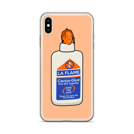 Travis Scott I'm The Glue iPhone Case