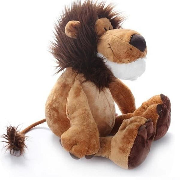 trendweekly.com:Lion Stuffed Plush Doll Jungle Series Animal Toys