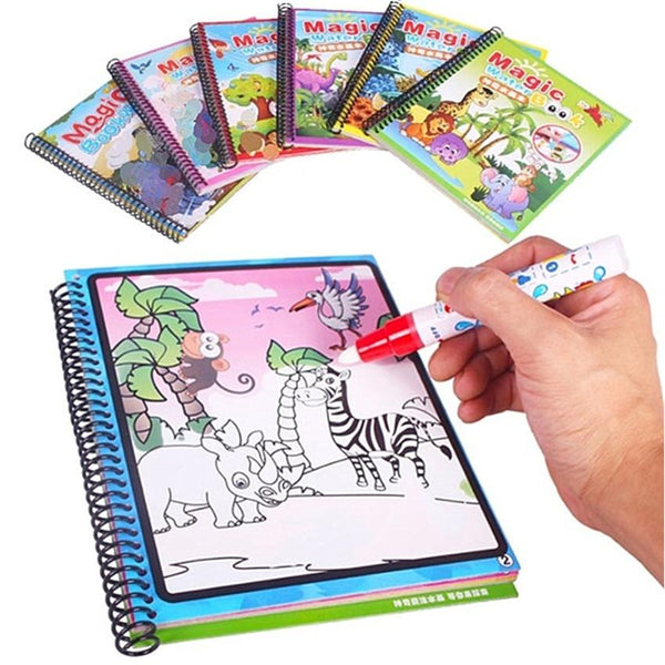 trendweekly.com:Kids Toys Magic Water Drawing Book Birthday Gift