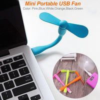 trendweekly.com:Tablet Power Bank Computer Removable USB Fan