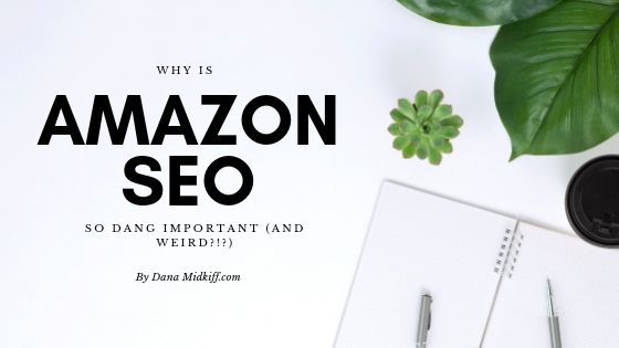 Why is AMAZON SEO so dang important (and weird!?)