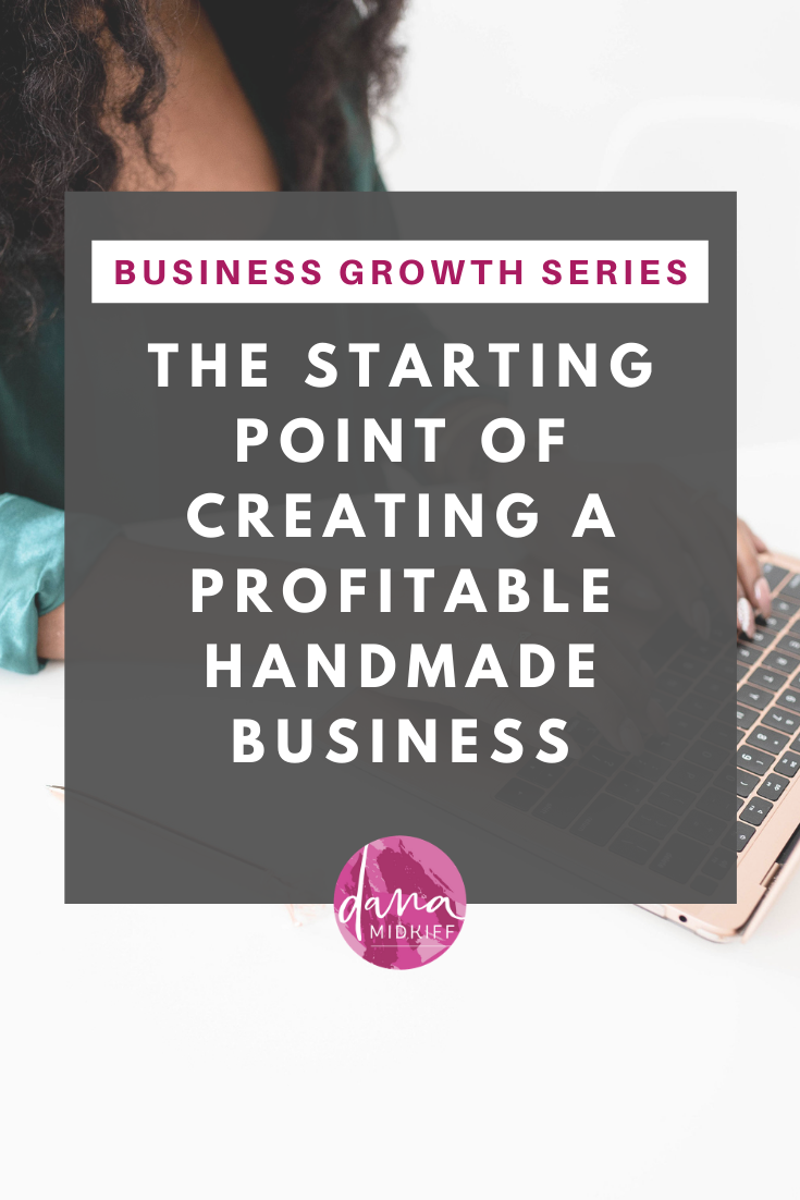 Start a Profitable Handmade Business