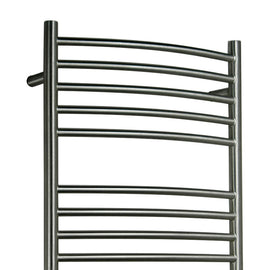 Amba Electric Wall Mount Jeeves E Curved Towel Warmers Brushed
