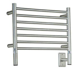 Amba Electric Wall Mount Jeeves H Straight Towel Warmers Brushed