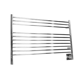 Amba Jeeves L Straight Wall Mounted Towel Warmer - Polished