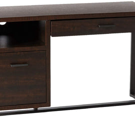 Offex Home Office Writing Desk with Pull-out Drawer