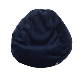 Majestic Home Goods Villa Navy Small Classic Bean Bag