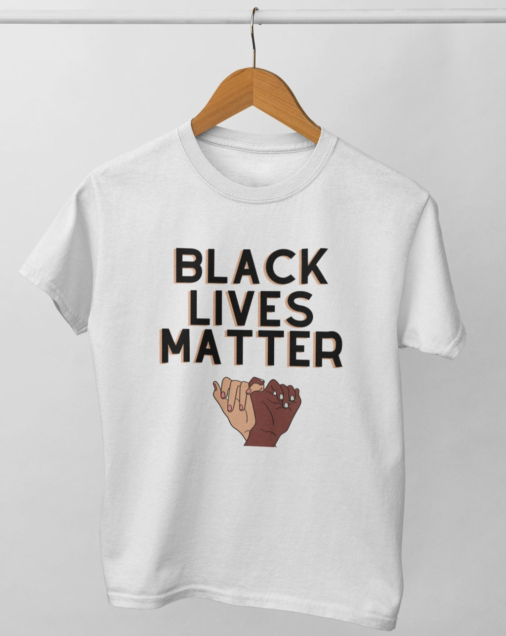 BLM adult tee. norm.