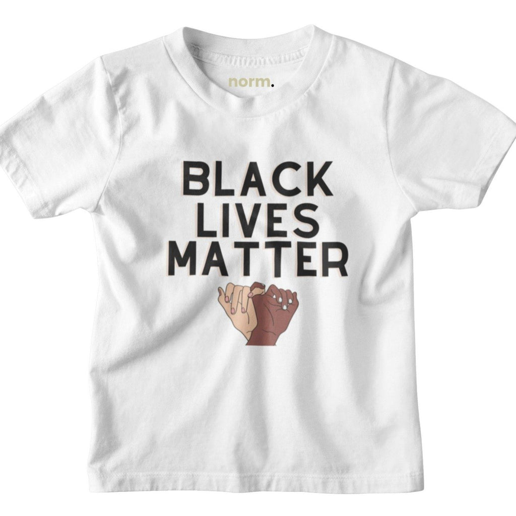 BLM toddler tee. norm.