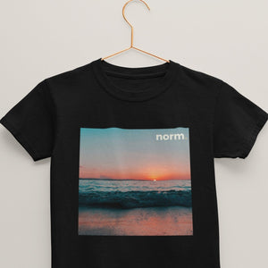 Danny youth tee. norm. Black S