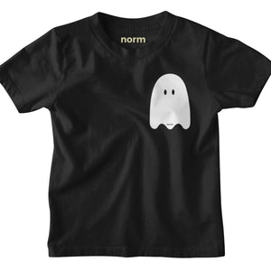 Ghosty toddler tee. norm.
