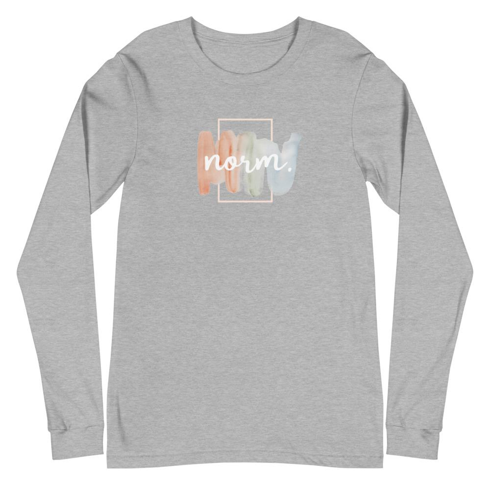 Hannah adult tee. norm. Athletic Heather XS