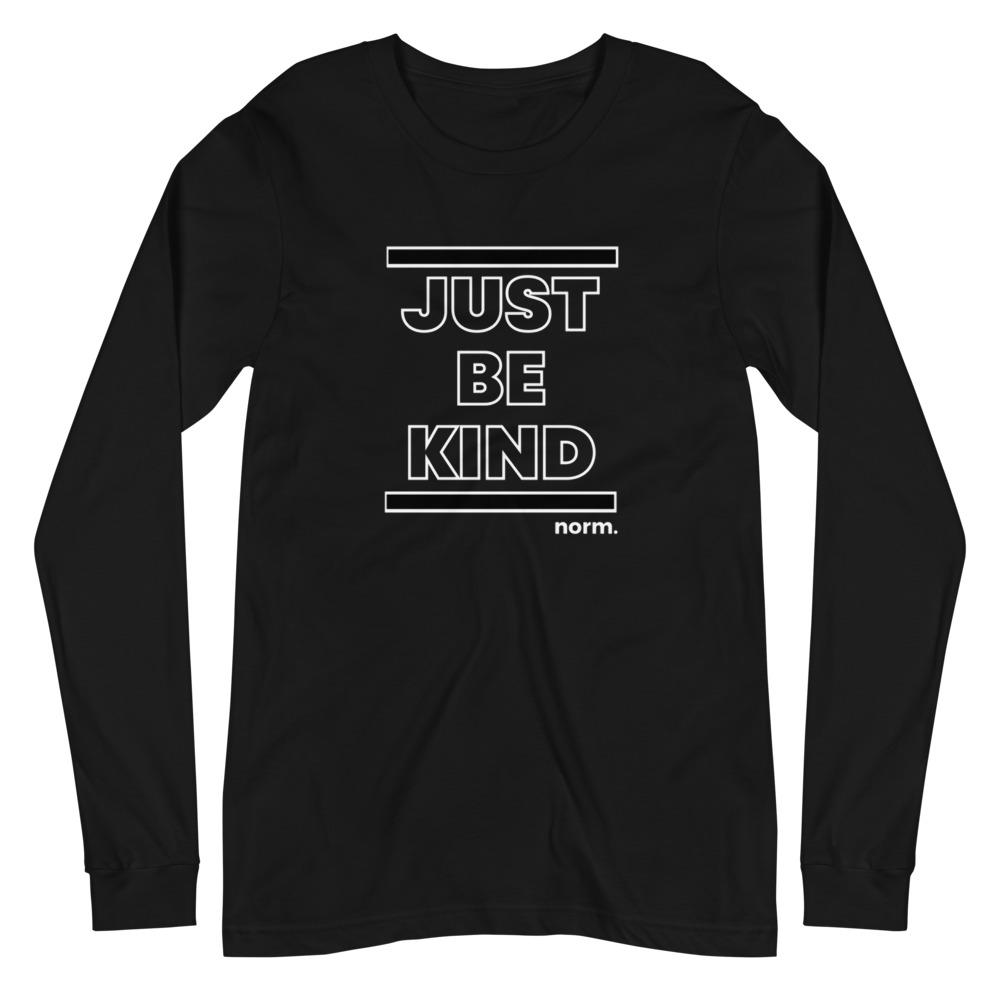 Just Be Kind adult tee. norm. XS