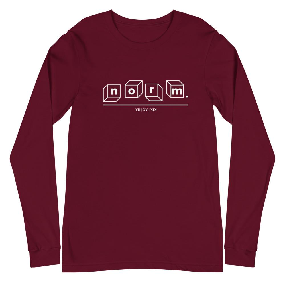 Parker adult tee. norm. Maroon XS