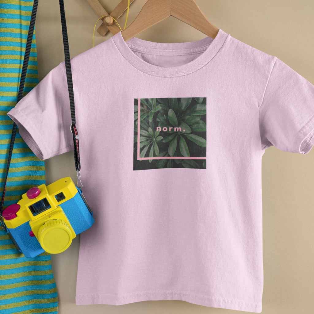 Tyler toddler tee. norm. Pink 2T