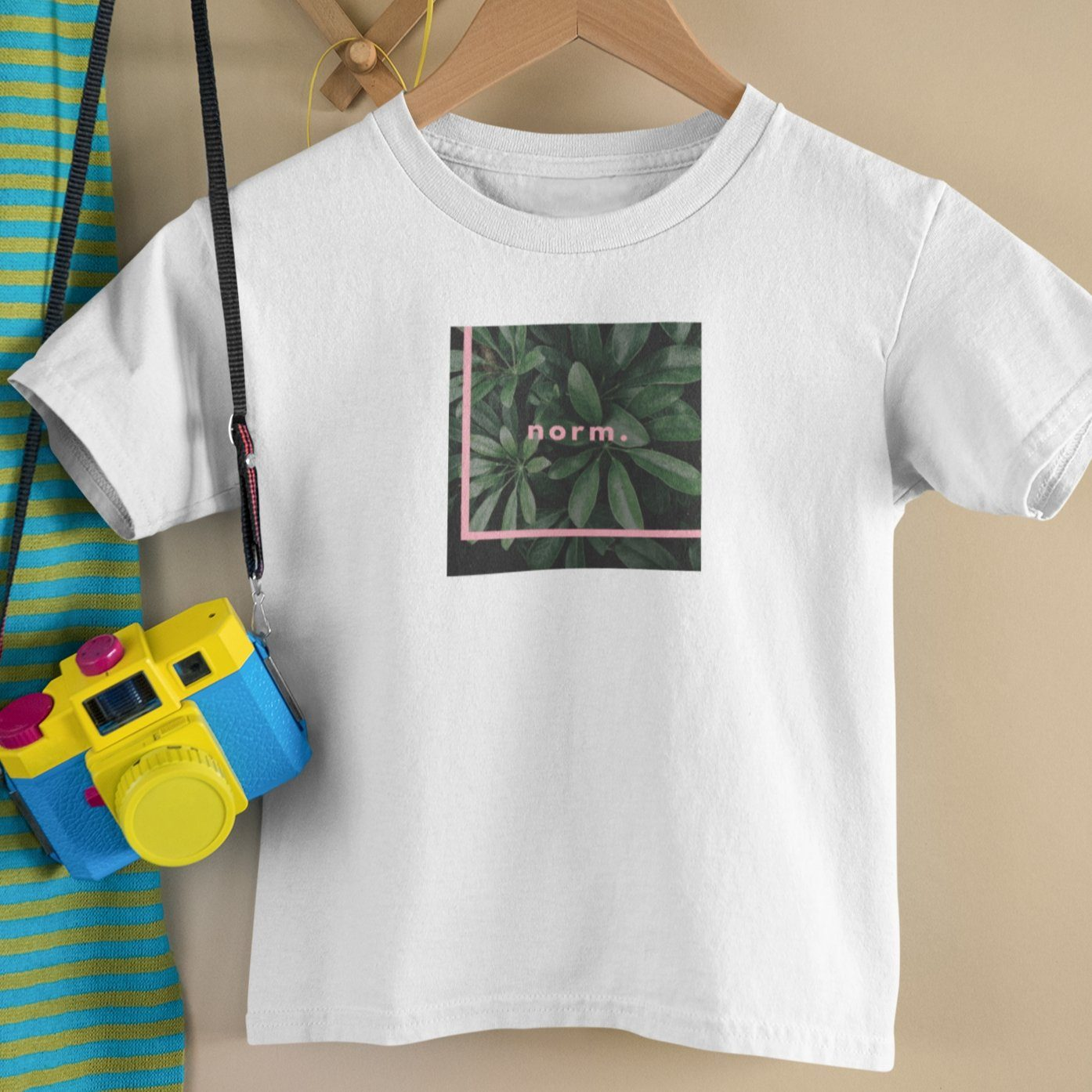 Tyler toddler tee. norm. White 2T