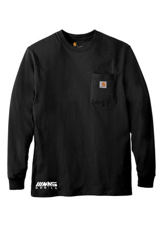 Carhartt® Workwear Pocket Long Sleeve T-Shirt (Black)