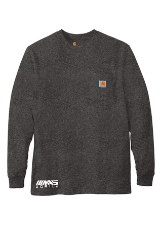 Carhartt® Workwear Pocket Long Sleeve T-Shirt (Carbon Heather)