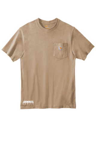 Carhartt® Workwear Pocket Short Sleeve T-Shirt (Desert)
