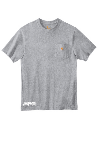 Carhartt® Workwear Pocket Short Sleeve T-Shirt (Heather Grey)