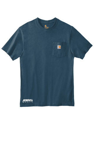Carhartt® Workwear Pocket Short Sleeve T-Shirt (Stream Blue)