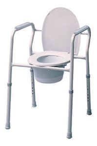 Commode with bucket