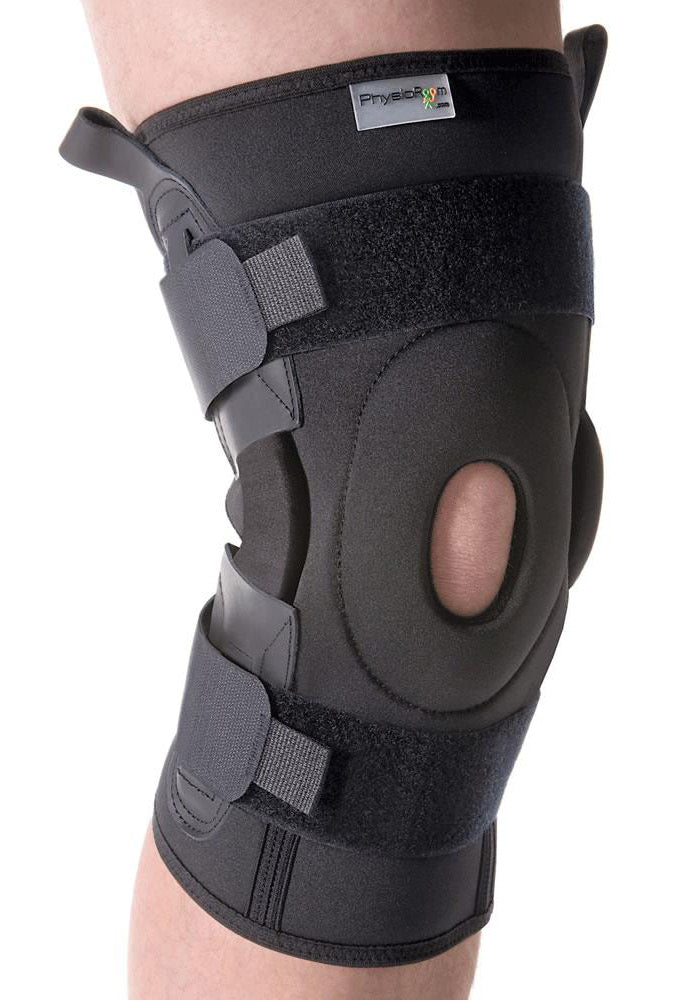 BodySport Compression Airmesh Dual Pivot Popliteal Open Hinged Knee Brace
