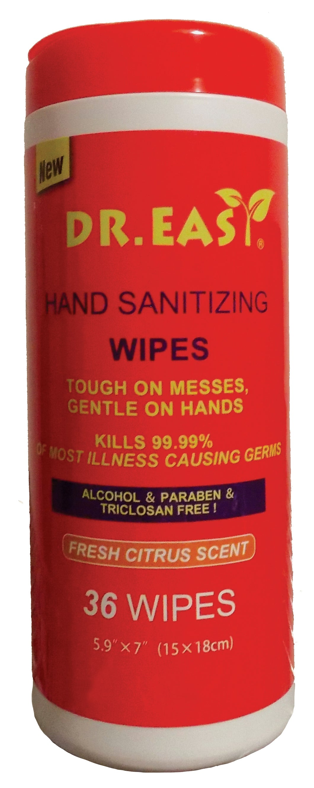 Dr. Easy Hand Sanitizing Wipes