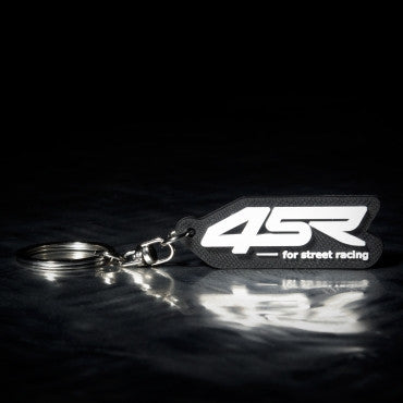 Logo key chain 4SR black - 4SR