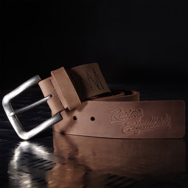 Leather belt Racing Syndicate - 4SR