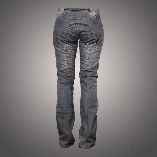 Jeans Lady Star Gray - 4SR