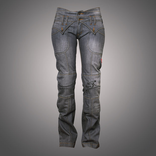 Jeans Lady Star Grey - 4SR