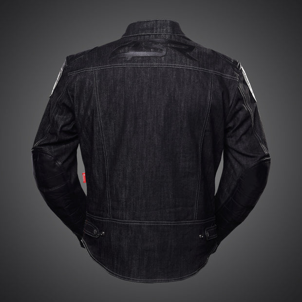 Rowdie Denim Jacket Black - 4SR