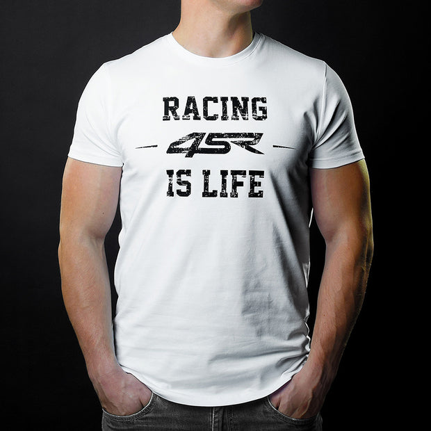 T-Shirt Life White - 4SR